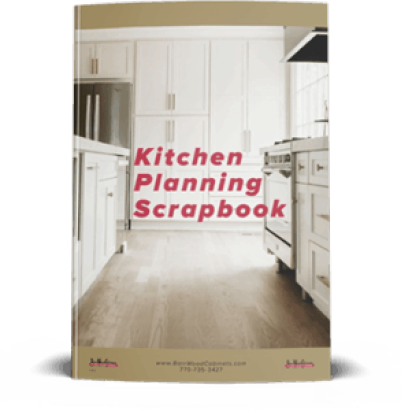 Kitchen Planning Scrapbook book.