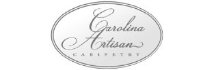 Gray Carolina Artisan Cabinetry logo.